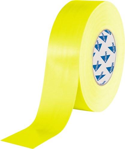 Deltec Gaffer Tape Fluor Geel 50mm x 25m