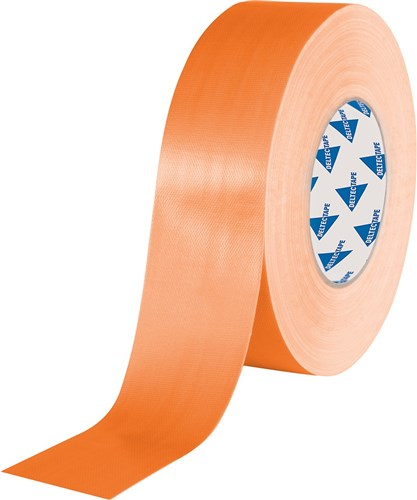 Deltec Gaffertape Pro Oranje 50mm x 25m