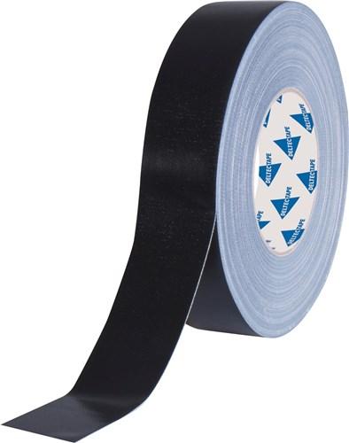 Deltec Gaffertape Pro Zwart 38mm x 50m