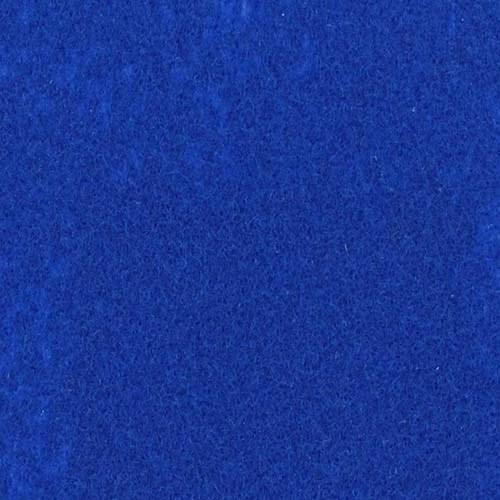 Rol tapijt met folie pauw blauw 40m x 2m