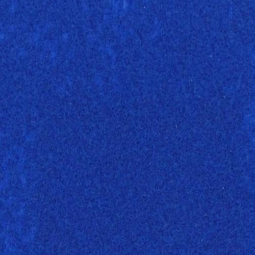 Rol tapijt met folie pauw blauw 40m x 1m