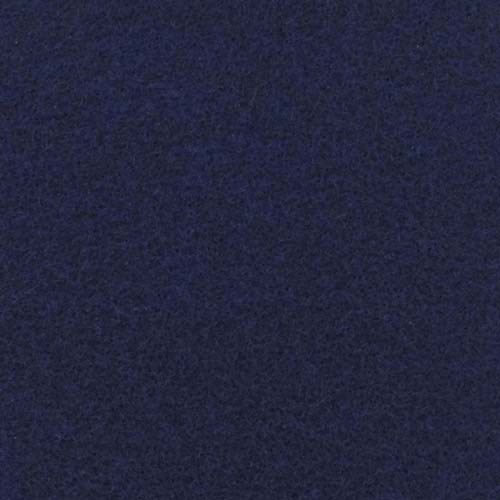 Rol tapijt met folie marine blauw 40m x 2m