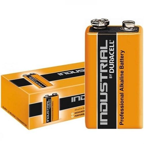 Duracell Industrial Batterij 9V 6LR61 – doos 10