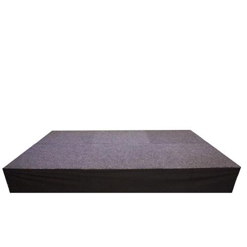 Podiumrok 1 zak 3M X 1 M –  zwart strak