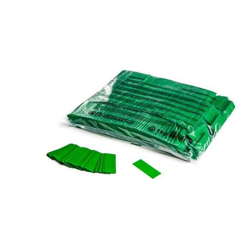 Slowfall confetti rectangles 55x17mm – Donker Groen – 1KG