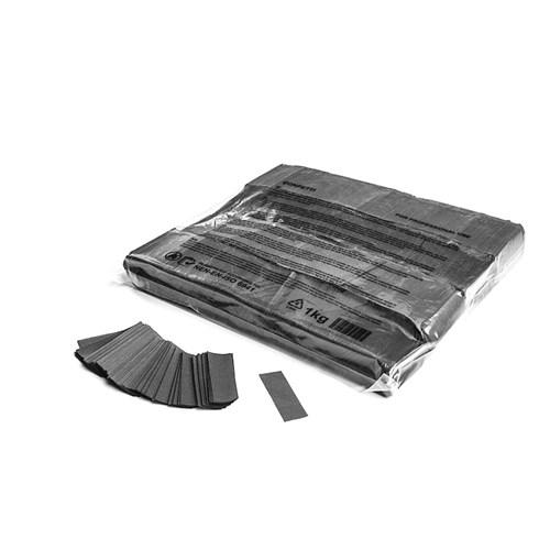 Slowfall confetti rectangles 55x17mm – Grijs – 1KG