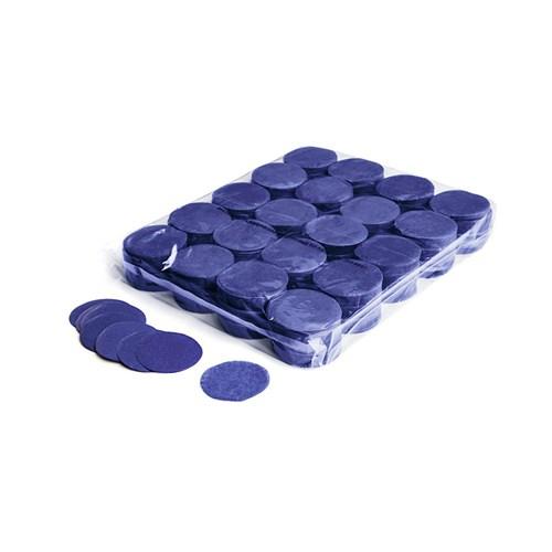 Slowfall confetti rounds Ø 55mm – Donker Blauw – 1KG