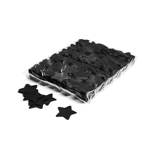 Slowfall confetti stars Ø 55mm – Zwart – 1KG