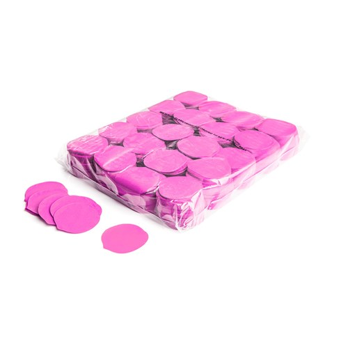 Slowfall confetti rose petals Ø 55mm – Roze – 1KG