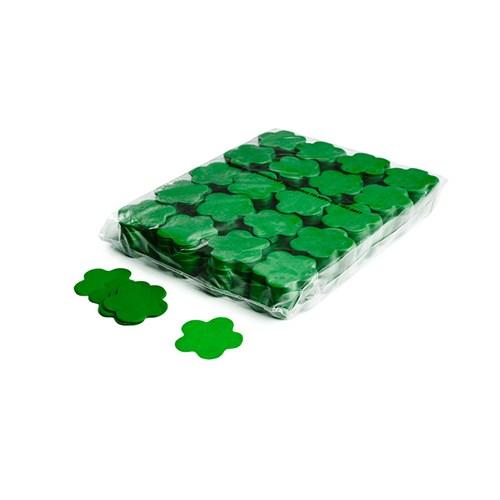 Slowfall confetti flowers Ø 55mm – Donker Groen – 1KG