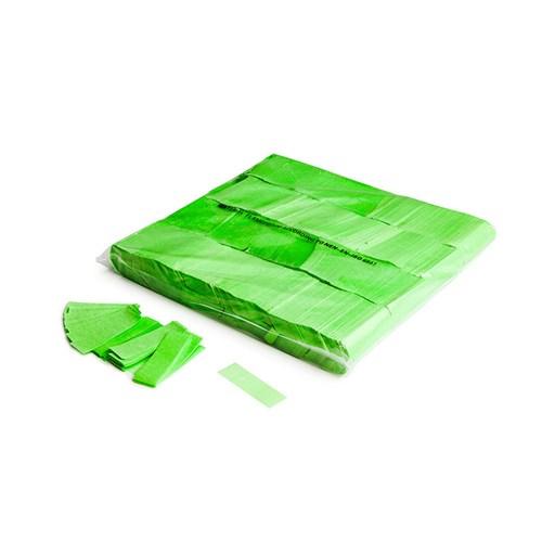 Slowfall UV confetti 55x17mm – Fluor Groen – 1KG