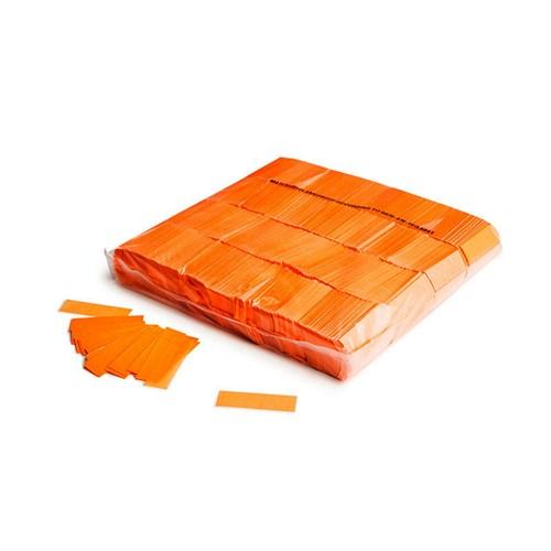 Slowfall UV confetti 55x17mm – Fluor Oranje – 1KG