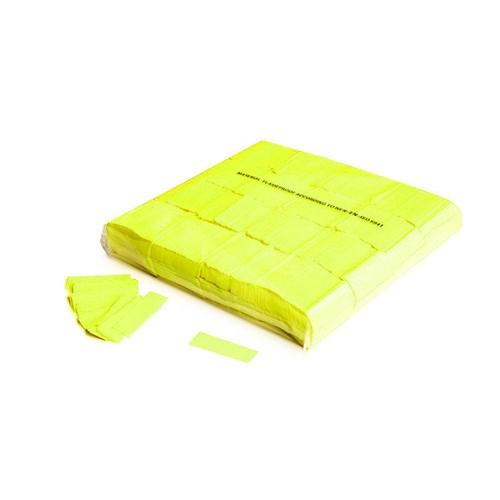 Slowfall UV confetti 55x17mm – Fluor Geel