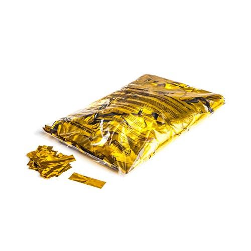 Metallic confetti rectangles 55x17mm – Goud – 1KG