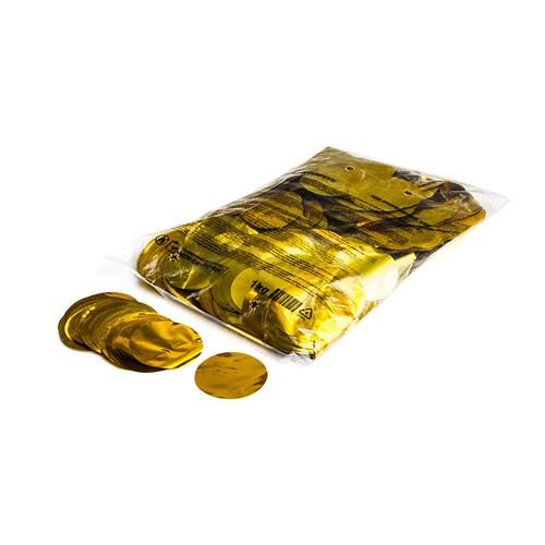 Metallic confetti rounds Ø 55mm – Goud – 1KG