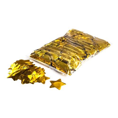 Metallic confetti stars Ø 55mm – Goud – 1KG