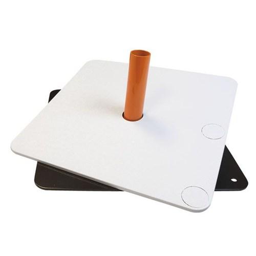 Wentex Baseplate Cover 45x45cm White