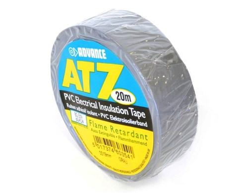 Advance AT7 PVC Tape 19mm-20m – Grijs