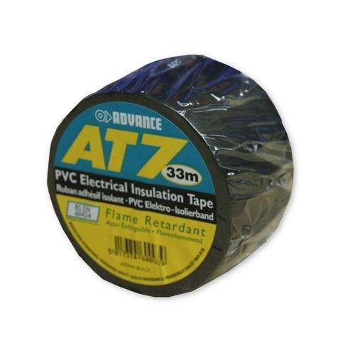 Advance – AT7 PVC Tape 50mm-33m – Zwart