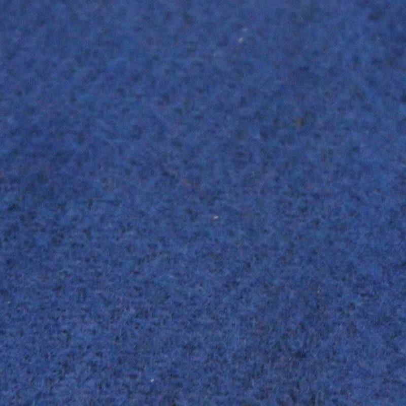 Theaterdoek afgewerkt max 8m2 Marine blauw