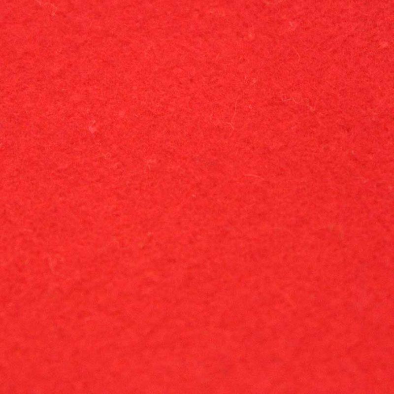 Theaterdoek afgewerkt vanaf 8m2 Tomaat rood