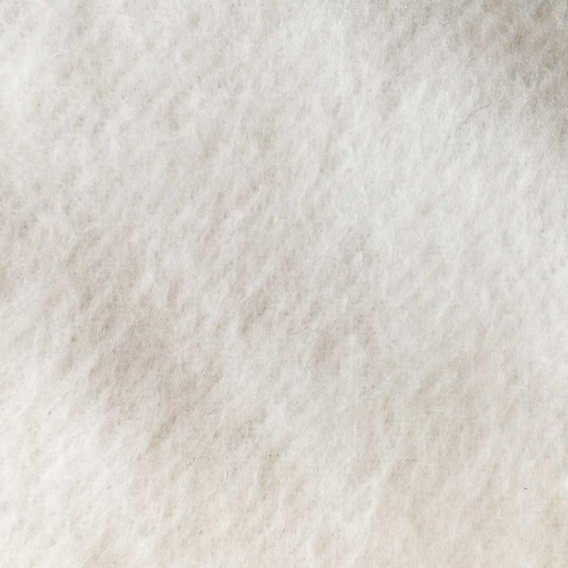 Theaterdoek onbewerkt van de rol Wit – minimaal 3m2