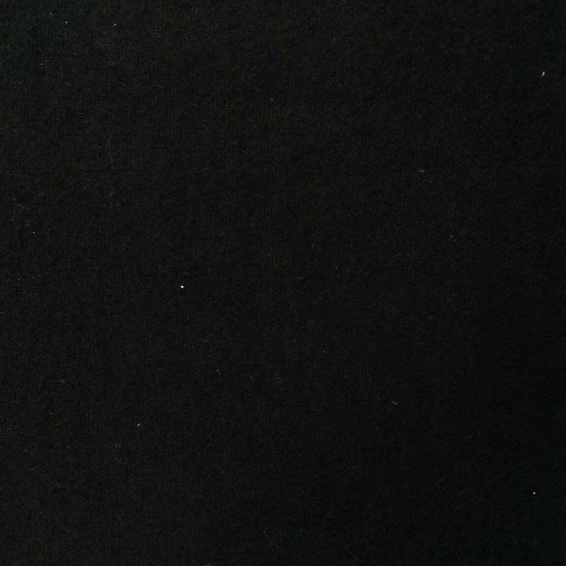 Theaterdoek onbewerkt van de rol Zwart – minimaal 3m2